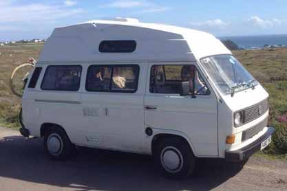 Faye the Camper Van